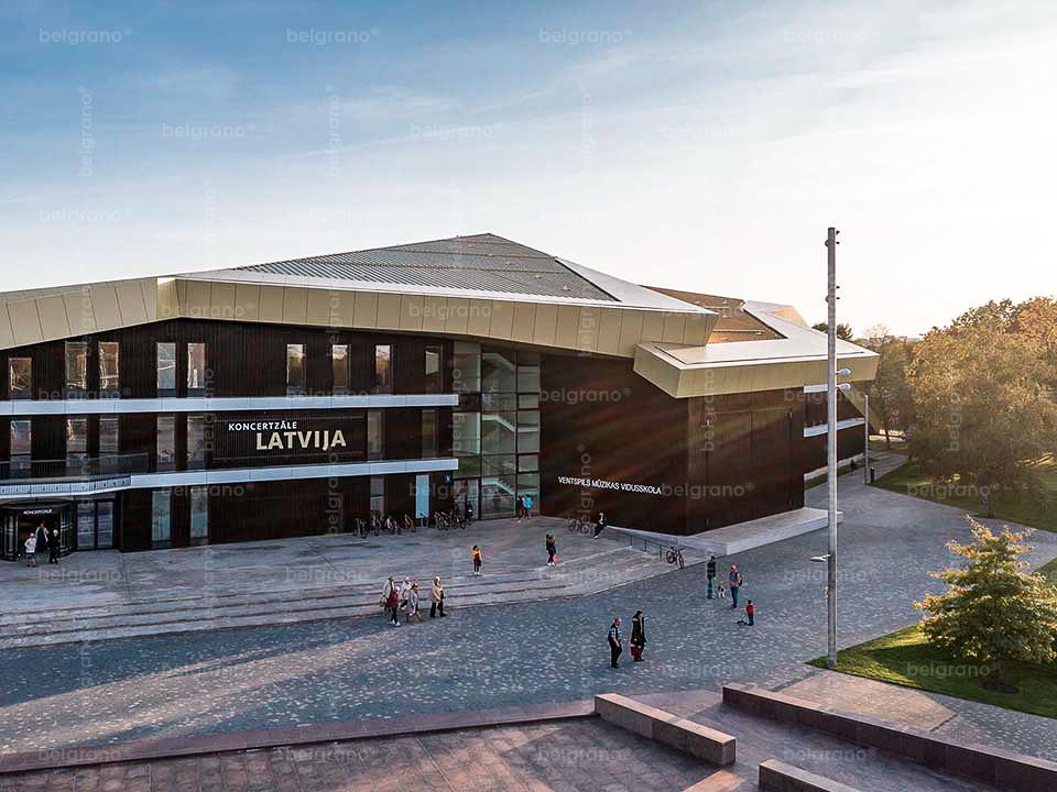 Ventspils | Musikschule und Konzerthalle