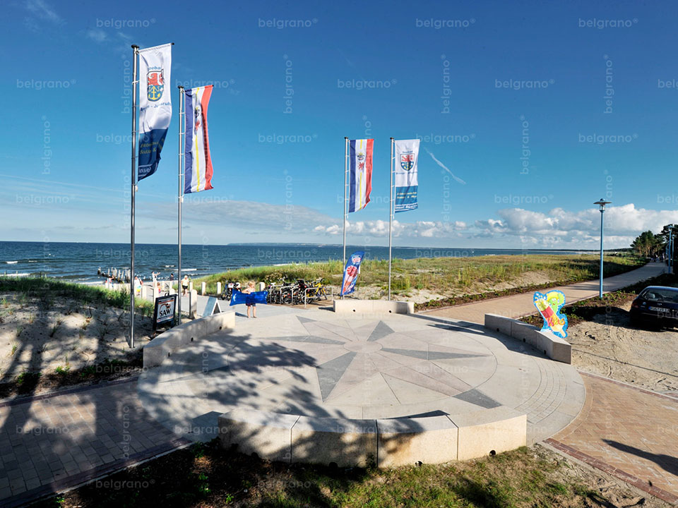 Seebad Breege – Juliusruh | Strandpromenade