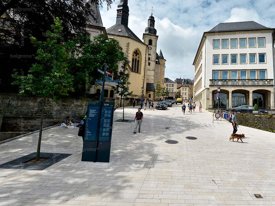Luxemburg | Rue Sigefroi