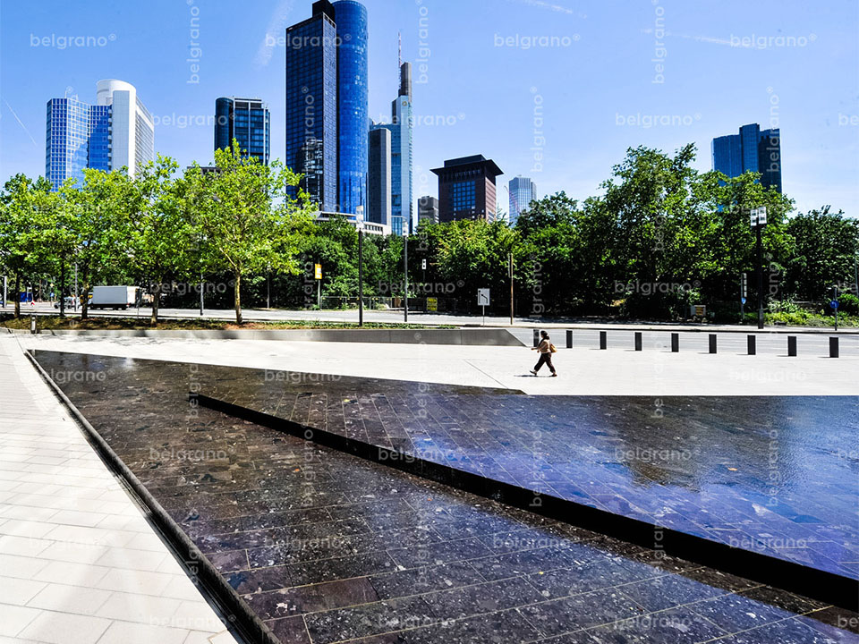 Frankfurt am Main | Deutsche Bank Brunnen