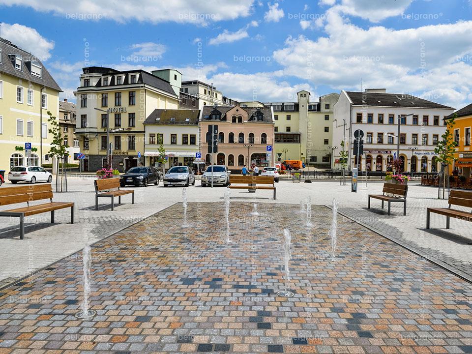 Lengenfeld   Neugestaltung Marktplatz