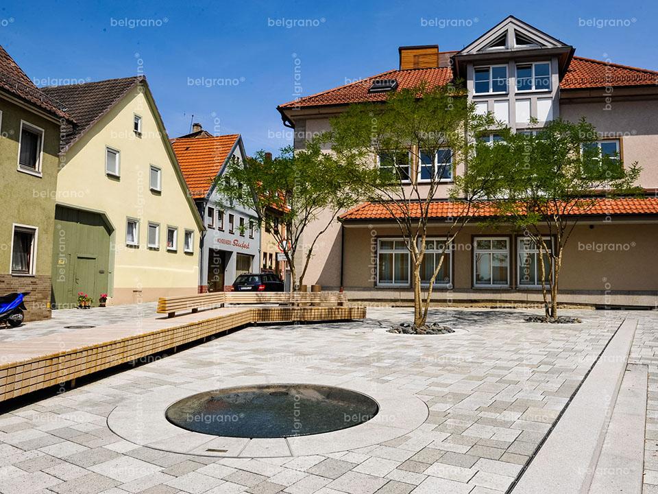 Mellrichstadt   Hauptstraße und Plätze