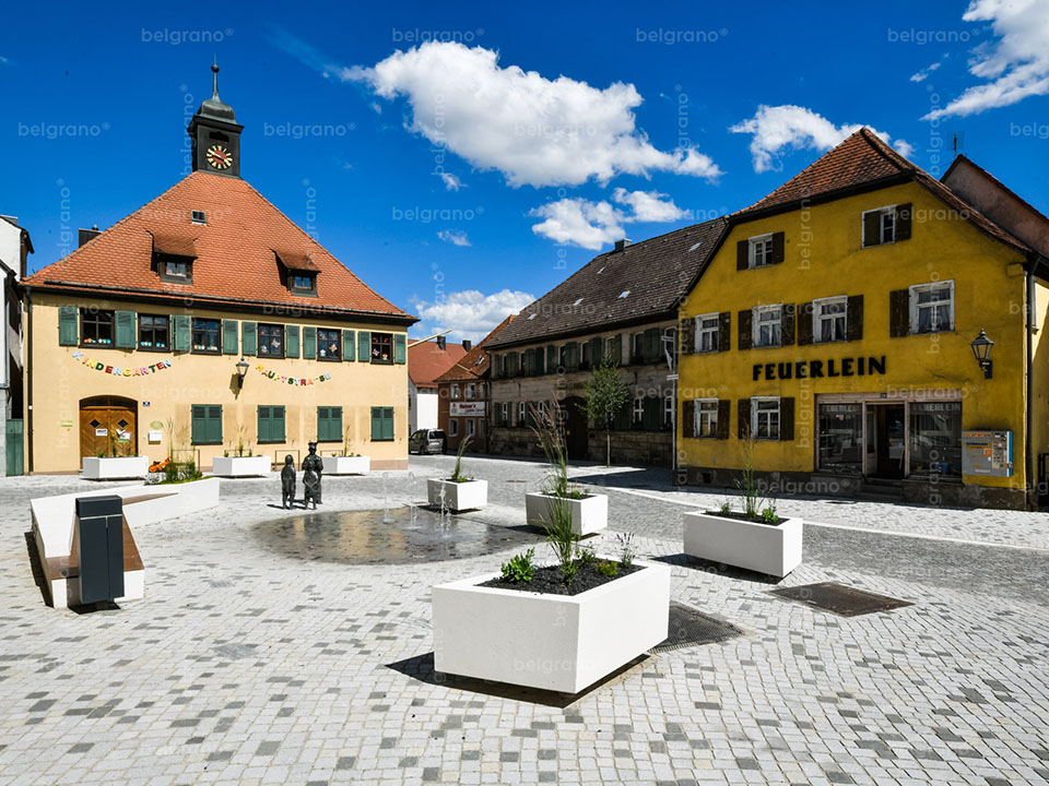 Markt Erlbach | Umgestaltung Hauptstraße