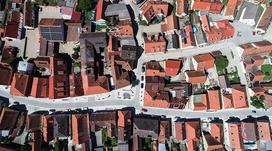 Fußgängerzonen & Plätze