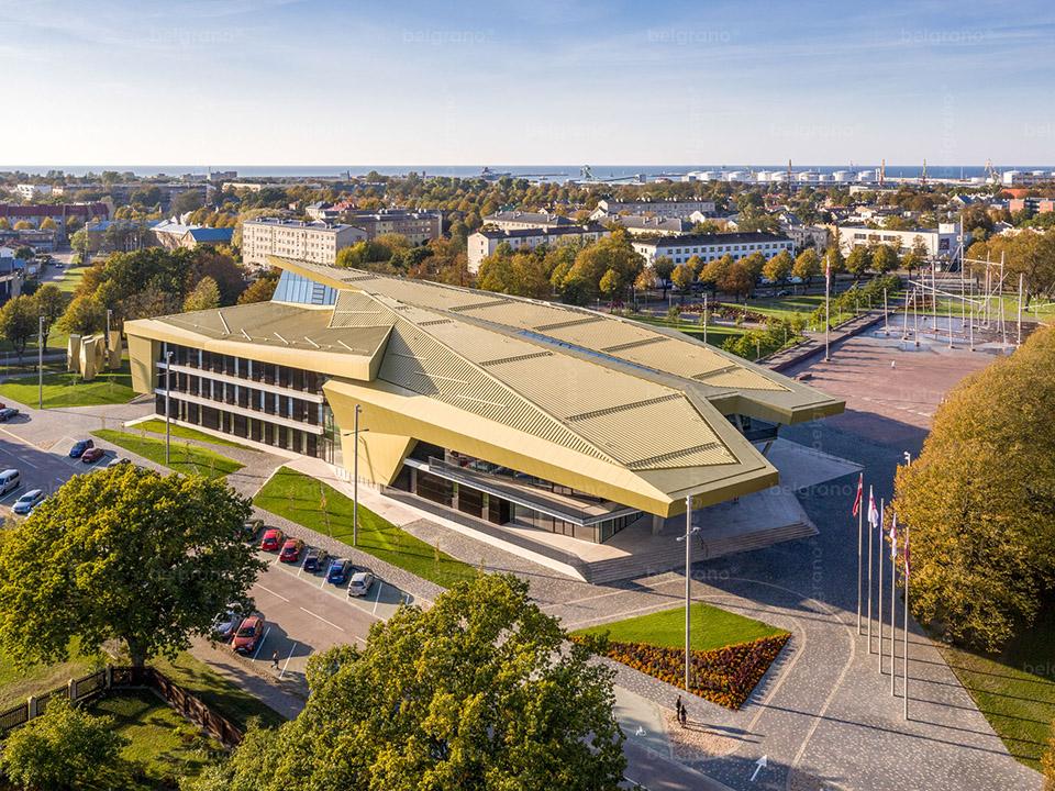 Musikschule und Konzerthalle in Ventspils