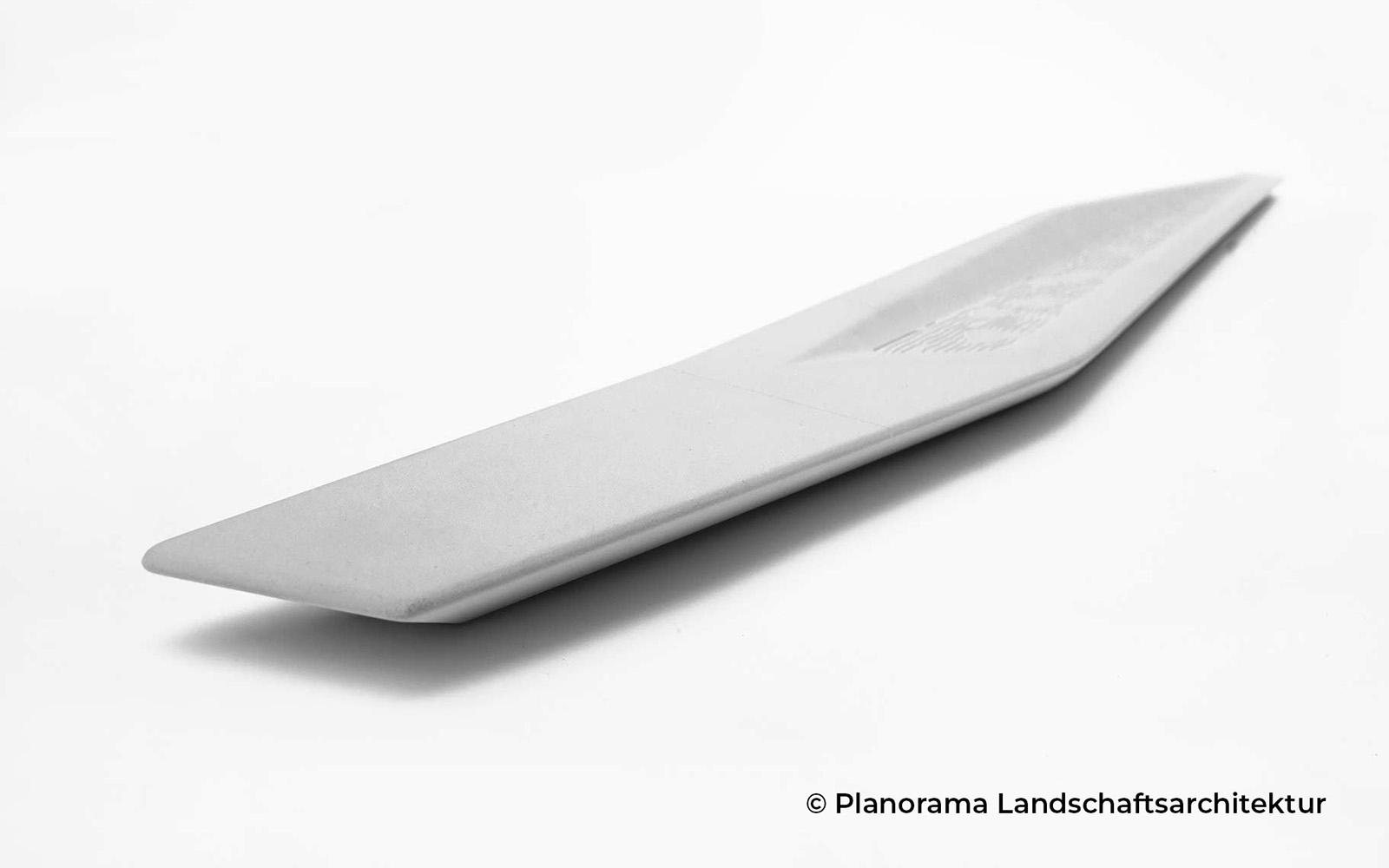 Entwurf des Brunnenbandes für die Landesgartenschau in Eppingen